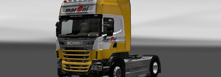 Skin Scania Maroni Transport