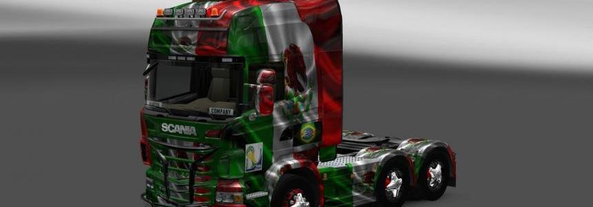 Skin Scania Mexico Copa 2014