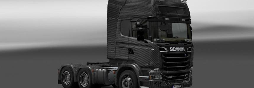 Skin Scania Streamline Carbono