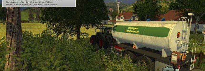 Tandem Trailer Diesel H97 v3.1