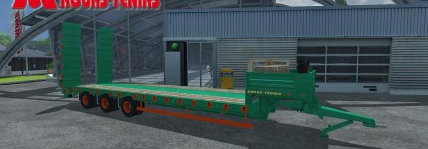 Tenias Low Loader tridem v1.0