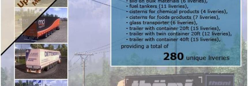TRAILER PACK with Realistic Textures 1.9.0