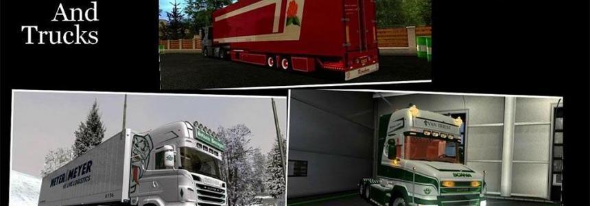 Truck skin pack V1.0
