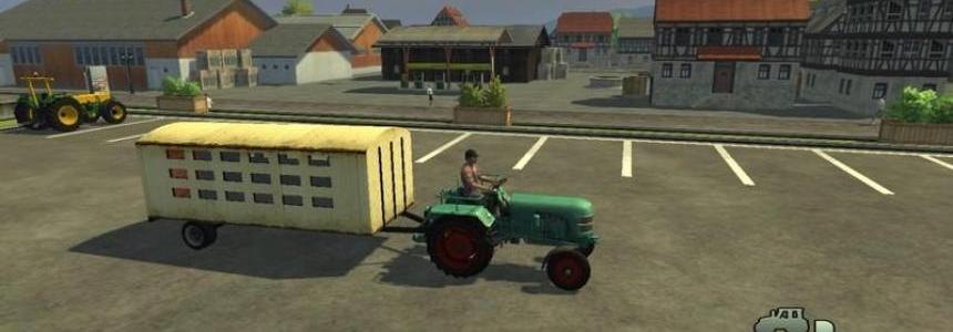 Vintage animal trailer v1.0
