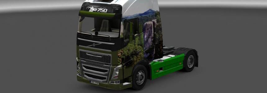 Volvo FH16 2012 10 skin by hummer2905 2.0