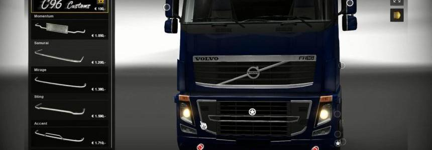 Volvo FH16 Bottom Grill
