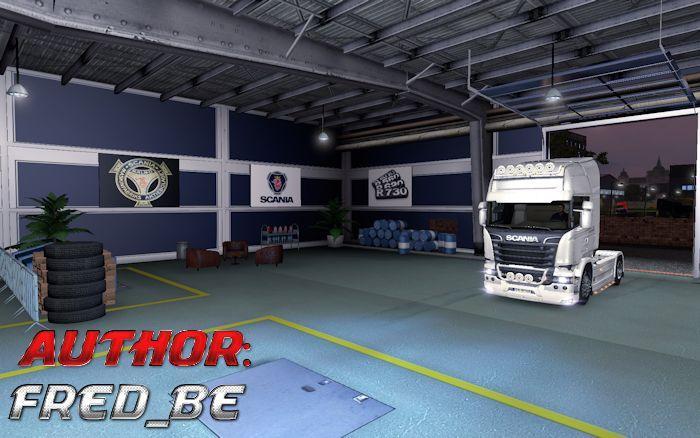 Garage personalizzato volvo e scania for Garage domestico personalizzato