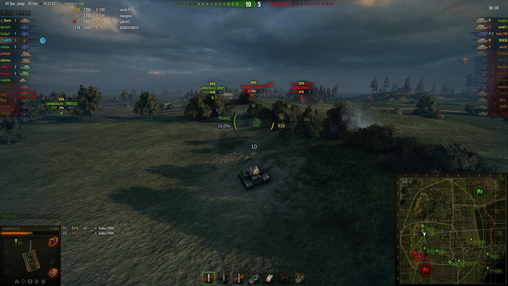 world of tanks xvm mod config