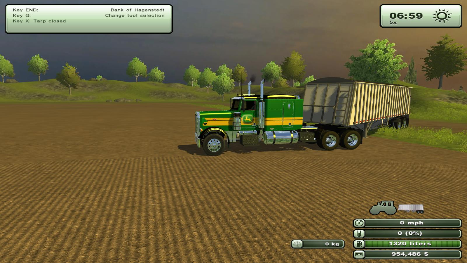 JD R450 windrower v1.2