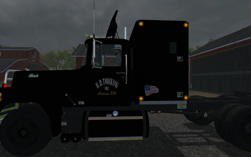 american truck simulator mack rubber duck