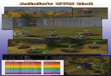 Aslain's XVM Mod v3.4.17 9.0