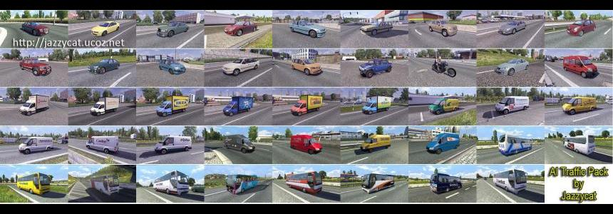 AI Traffic Pack by Jazzycat v1.1