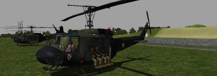 Bell UH1D US ARMY BY ZORLAC v1.0