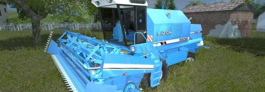 Bizon Rekord Z058 (Blue) + New Crops