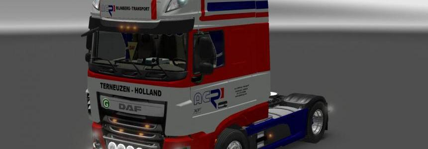 DAF FX Euro 6 Rijnberg Transport
