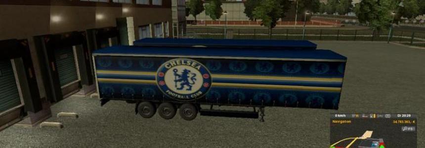 FC Chelsea Trailer Skin