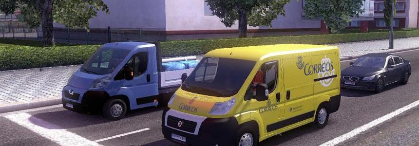 Fiat Ducato Correos Traffic