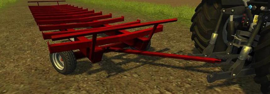 JBM Round Bale Trailer v1.0 fixed