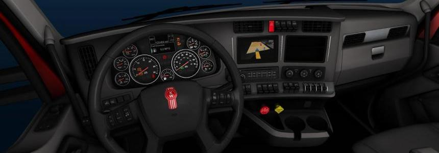Kenworth T680 interior