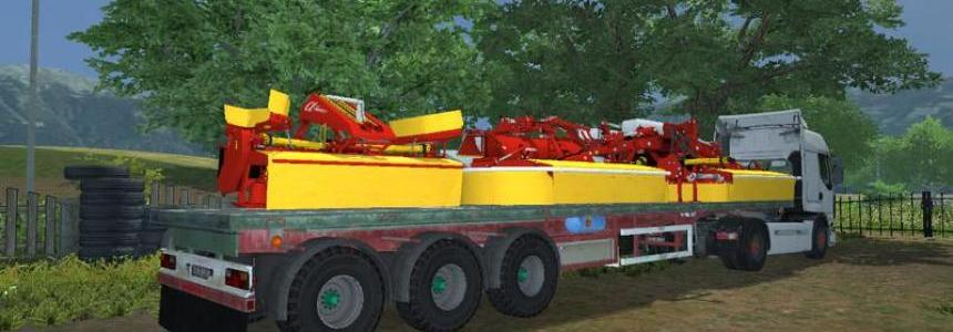 Koegel Flatbed trailers v1.0 MR