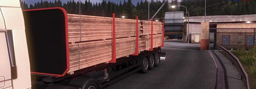 Log trailer Modifier