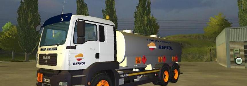 Man Diesel tank v2.0