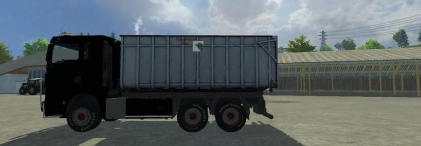 MAN TGX HKL with container v1.0