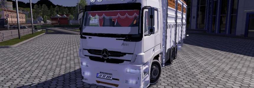 Mercedes Atego 3 axe