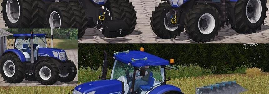 New Holland T7070 BluePower Pack