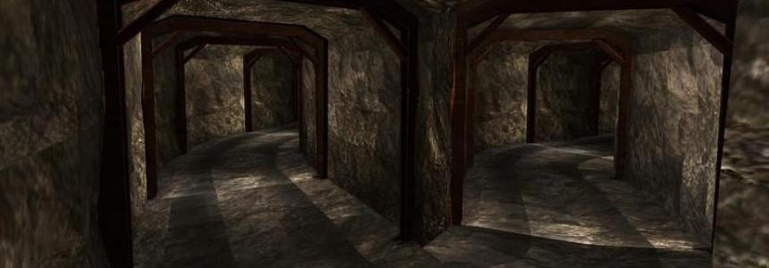 Old mining tunnel system underground v1.2
