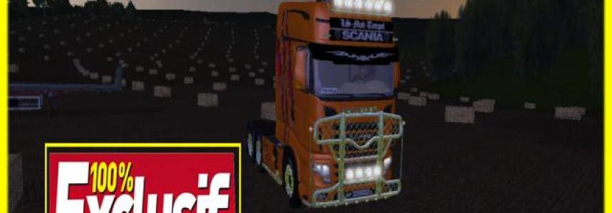 Pack camions scania cedric transport v2.0