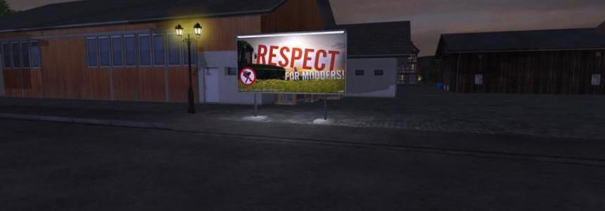 Respect for Modders sign v1.0