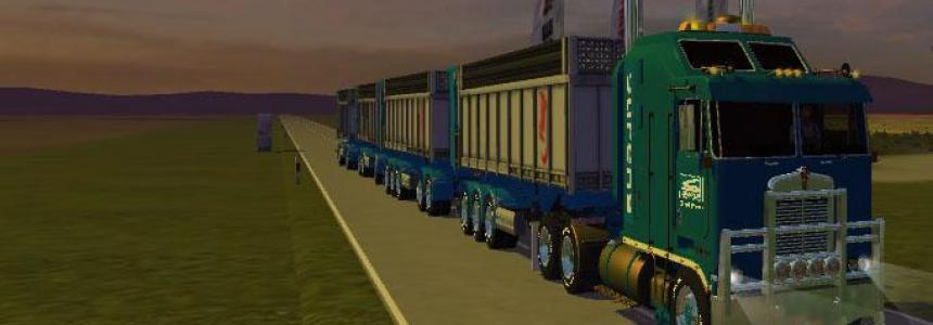 ROADTRAIN SARENS TRANSPORTS BY ZORLAC v1.0