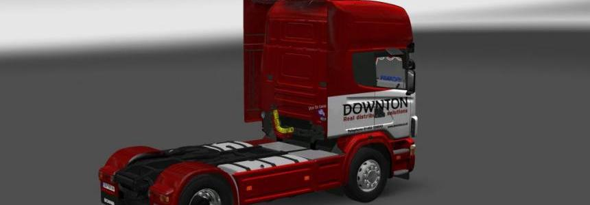 Scania 4 Downton Skin