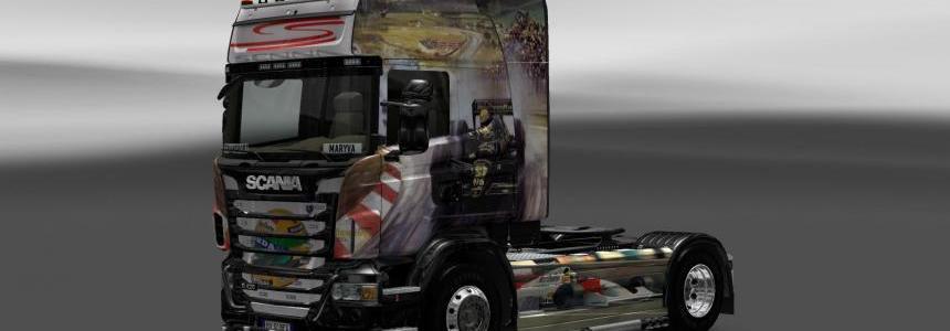 Scania Airton Senna Skin