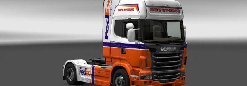 Scania FedEx Express Skin