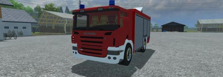 Scania P420 Rescue Truck v1.0