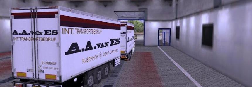 Scania R Tandem A.A.Van Es Skin