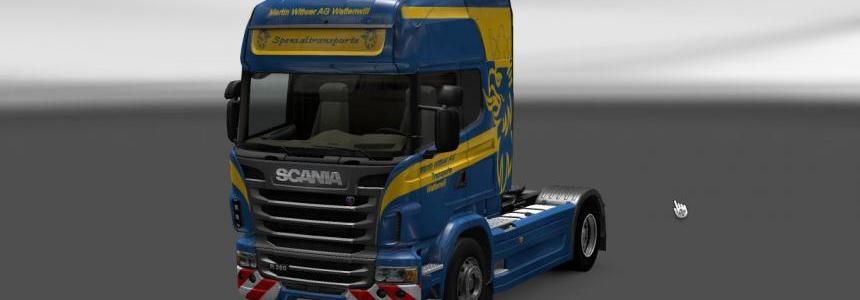Scania R Wittwer Skin