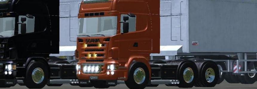 Scania R620 v1.0 Gray