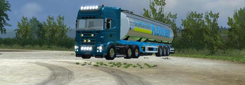 Scania R620 v1.0 MR Blue