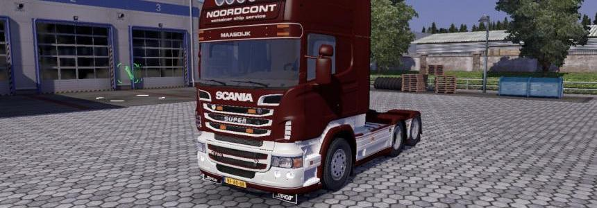 Scania Streamline with beatiful interior