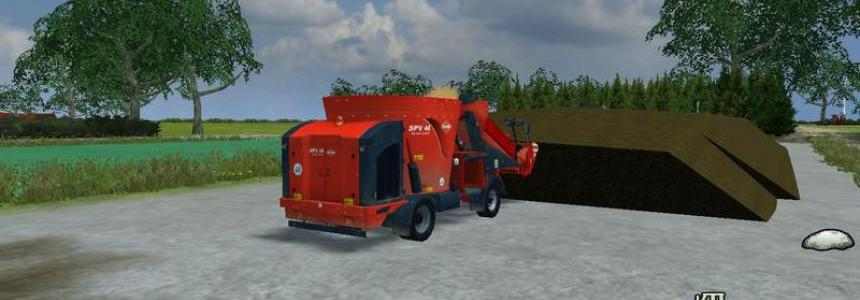 Silage silos with cutting edge v1.0