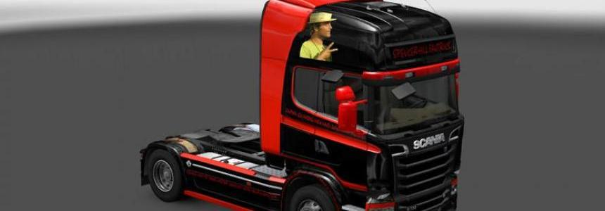 Spencer Hill Scania Skin v1.0