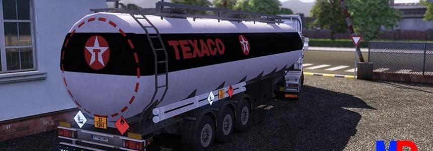 Texaco trailer cistern