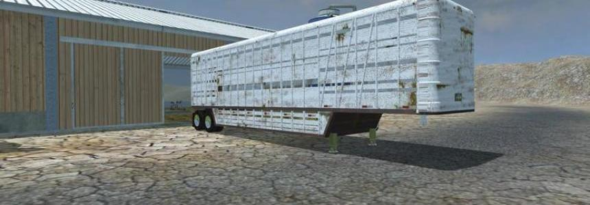 U.S. Old Cattle Trailer v1.1