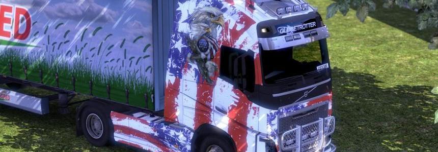 Volvo FH 2012 USA Skin