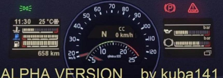 Volvo FH New Dashboard
