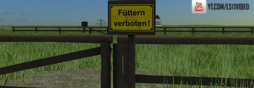 Wooden fence set v1.0