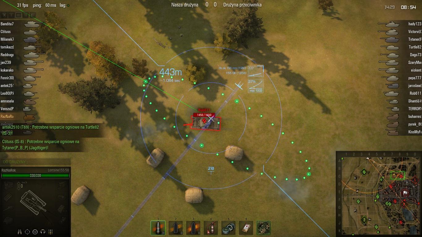 world of tanks protractor mod